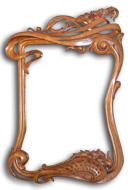Art Nouveau Pictue Frame