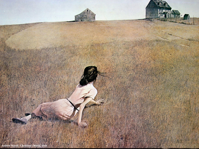 Christina's World by Andrew Wyeth, 1948