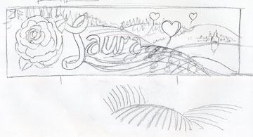 Laura Haferkorn Banner Sketch