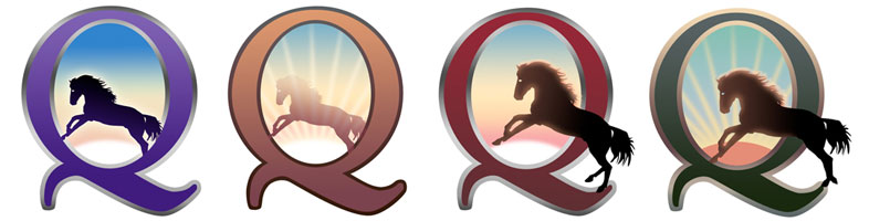 CircleQuest logo comps